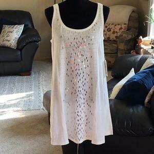NWT Eileen Fisher Sleeveless Linen Tunic